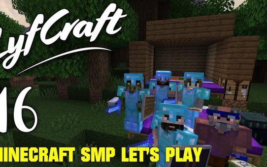 Lyfcraft 💙 Episode 16 💙 Mansion Mayhem 💙 Minecraft SMP Let's Play